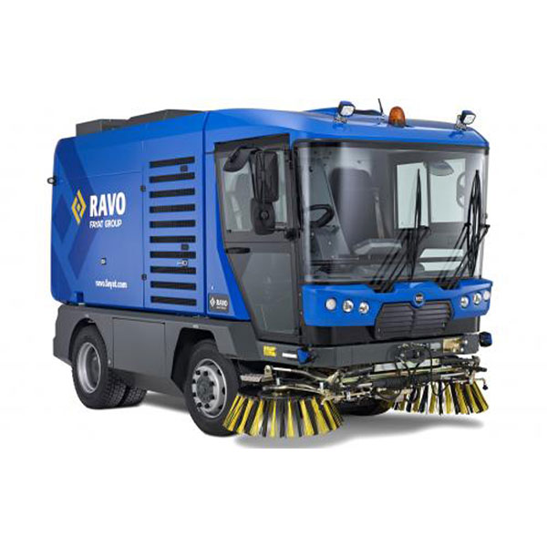 Ravo 5-iSeries Street Sweeper Quarter View