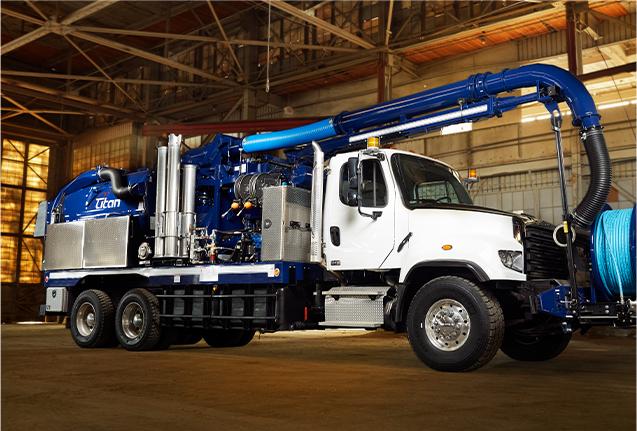 Titan Vacuum Truck