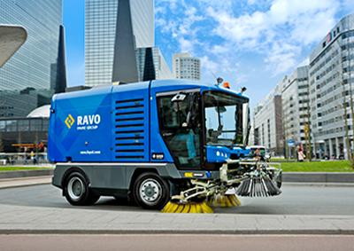 Ravo Street Sweeper Truck