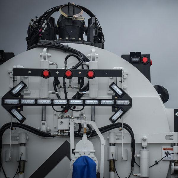 Rear View of Vac-Con X-Cavator Truck