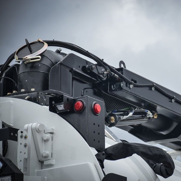 Close-Up Shot of Vac-Con X-Cavator Truck