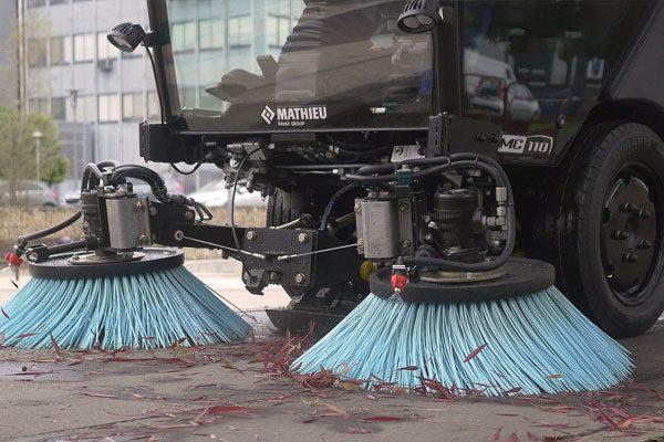 Mathieu MC110 Street Sweeper Brushes