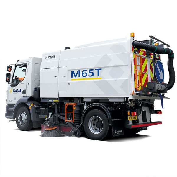 Scarab M65T Street Sweeper Quarter View