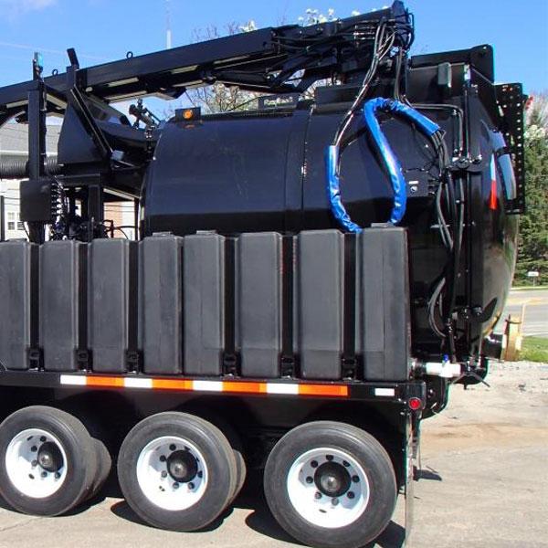 Used Mudslinger MS1200HD Diesel Vacuum Trailer