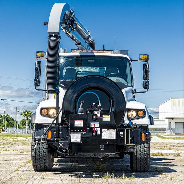 Vac-Con Single Engine Vacuum Truck Front