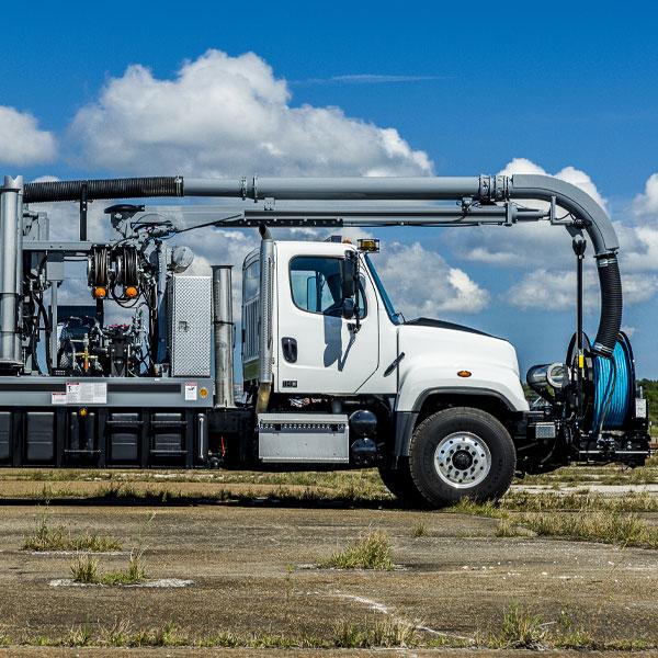 Vac-Con Single Engine Vacuum Truck Cabin End