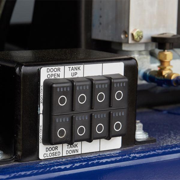 Vac-Con Titan Truck Panel