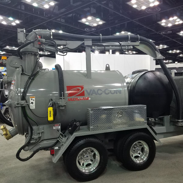 Vector Mudslinger Vac-Con Trailer-Mounted Vacuum